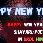 New Happy New Year Shayari Images Download in Urdu/Hindi (Wishes, Quotes, Poetry)