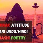 *New* | Khatarnak Attitude Shayari in Hindi/Urdu/English (2 Lines Poetry)