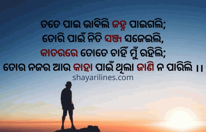 dhoka poetry in odia