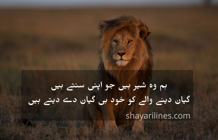 khatarnak attitude shayari for girl