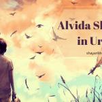 65+Alvida Shayari Status in Urdu /Hindi 2021 (Poetry, Images SMS)