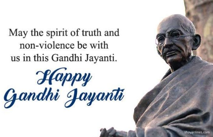 Tribute For Nation Father Of India.